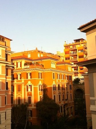 Suites Trastevere:                   View from the windows