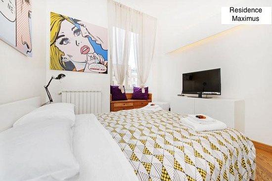 Residenza Maximus: Appartamento 5 persone