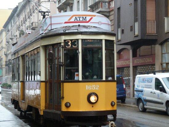 Tram Turistico :                   Tram in Milan