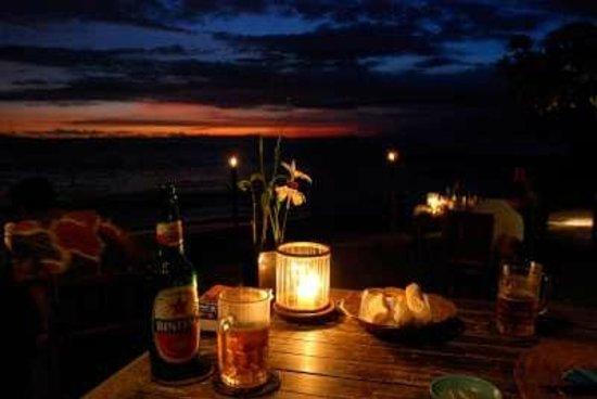 Cafe Alberto:                   Sunset