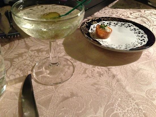Saslik :                   vodka cocktail