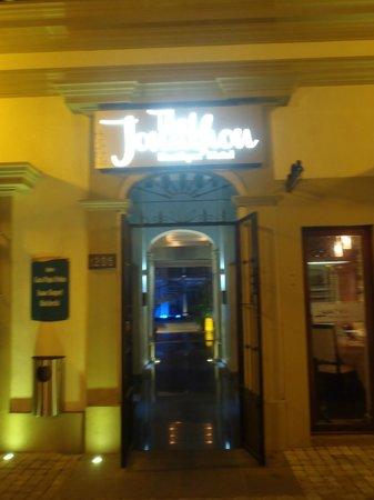 The Jonathon:                                     entrance