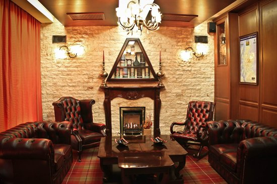 Whisky Bar 44: Cigar smoking lounge