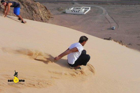 Sandana Sandboarding: Dahab Sandboarding, 13 Apr'12, 3