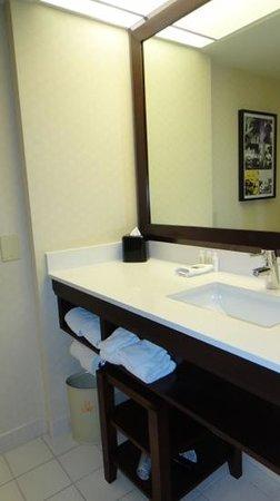 Renaissance Los Angeles Airport Hotel:                   bathroom