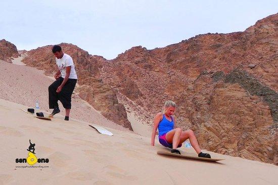 Sandana Sandboarding: Dahab Sandboarding, 13 Apr'12, 15