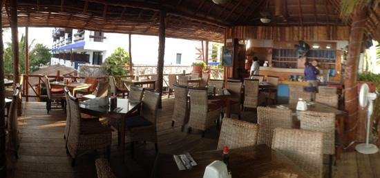 Blue Angel Resort:                                     Very good restaurant