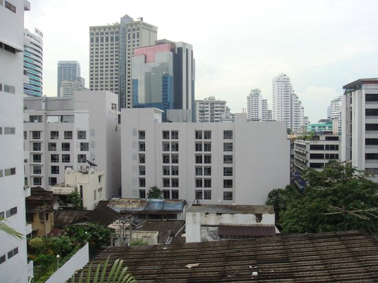 Dream Bangkok:                   view from room