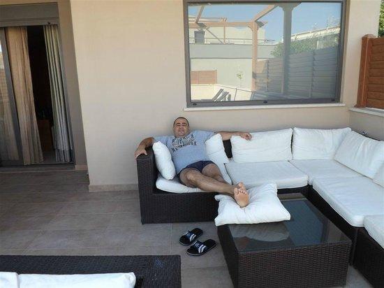 Apollonion Resort & Spa:                                     riposo