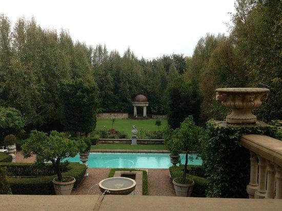 Le Chatelat:                   garden