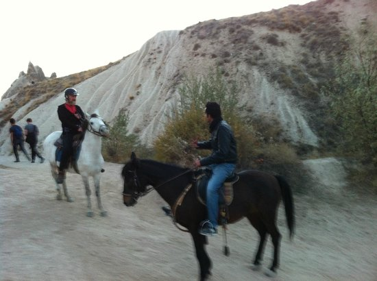 Goreme Ranch:                   Let's stay on the horse