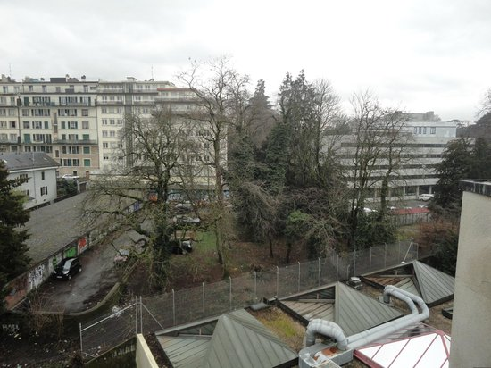 Hotel Diplomate:                   View from the balcony