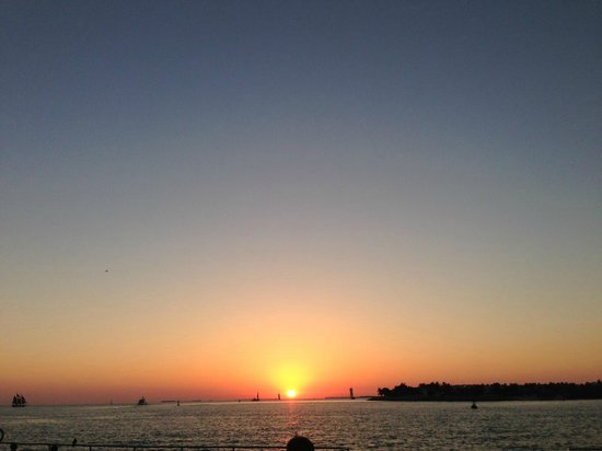 Almond Tree Inn:                   Key West Sunset