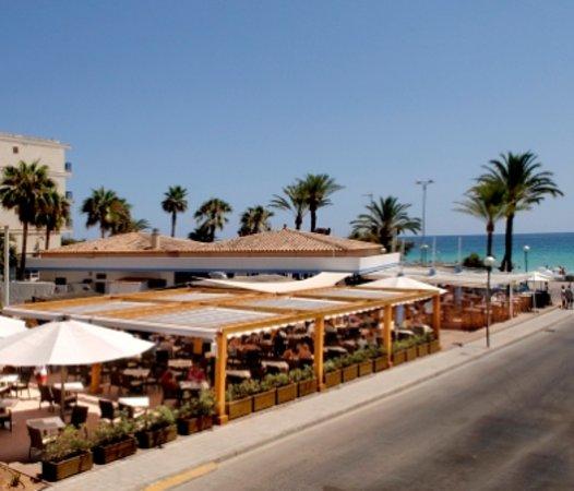 Hotel Girasol: BUFFET PLAYA CAPITAN HOOK