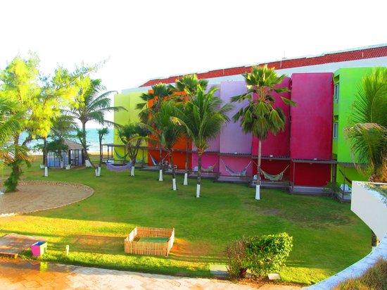 Prodigy Beach Resort Marupiara:                   VISTA DE HABITACIONES EN COLORES                 