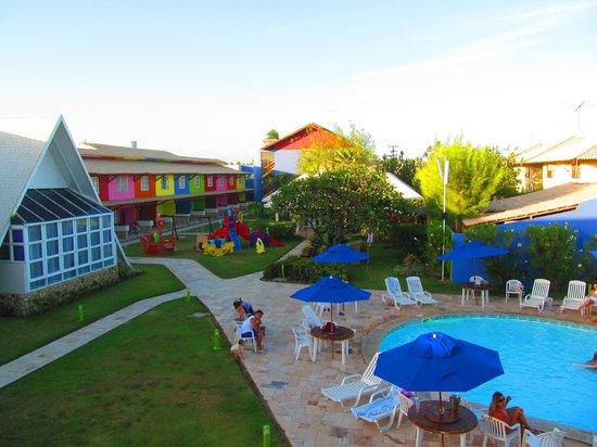 Prodigy Beach Resort Marupiara:                   VISTA DESDE LA TERRAZA DEL HOTEL