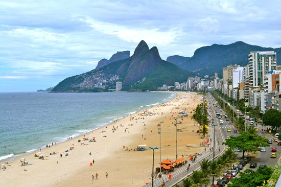 Hotel Fasano Rio de Janeiro:                   View of Ipanema from rooftop