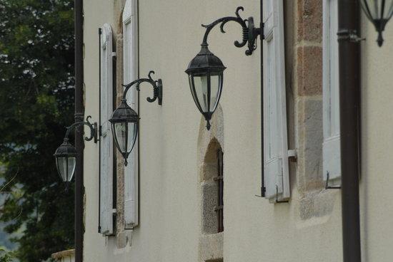 Le Clos St Georges: derrière la maison