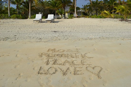 Kamalame Cay:                   Most Romantic Place We Have Ever Been