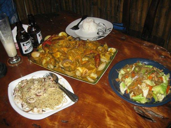 El Nido, แคลิฟอร์เนีย:                   večeře