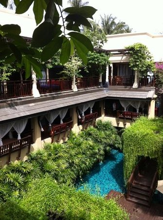 Burasari Resort:                                     from balcony