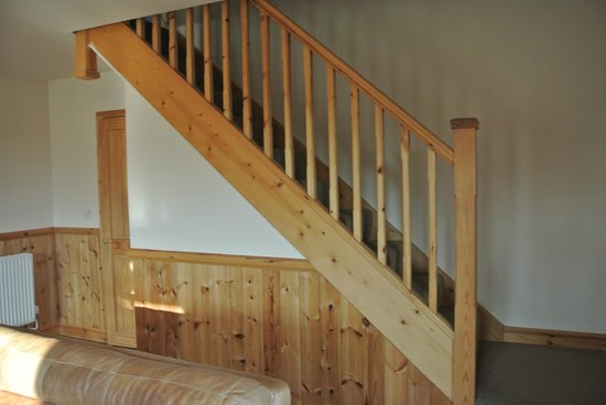 Oasis Lodges:                   stairs
