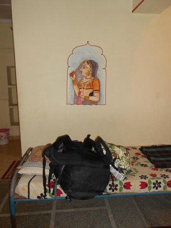 Ganpati Guest house:                   Room