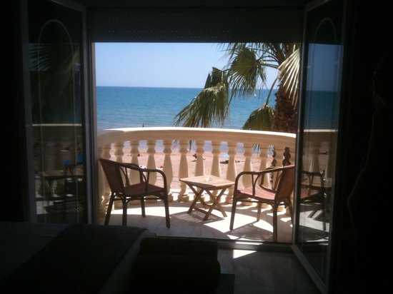 San Sebastian Playa Hotel:                   Balcony