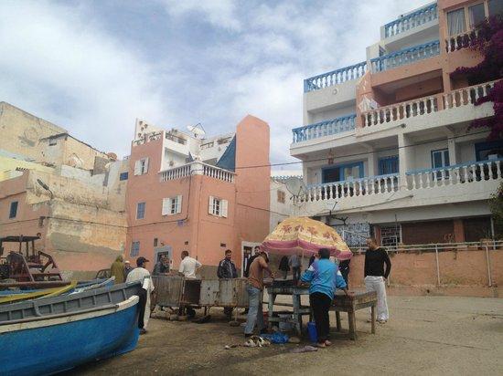 Taghazout Beach: il villaggio