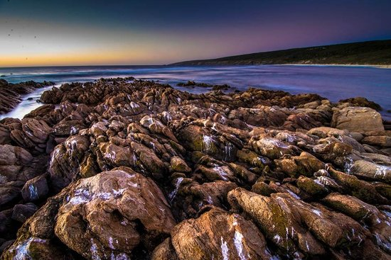 Yallingup, Australia:                                     Sunset