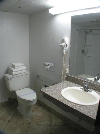 Dodge House Hotel: King Handicap Restroom