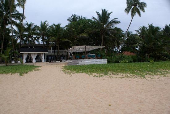 View on Suite Lanka from beach