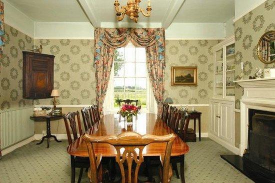 The Grange: Dining room