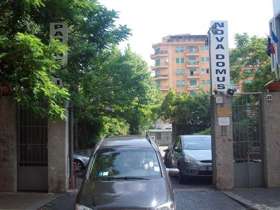 Quality Hotel Nova Domus: il parcheggio