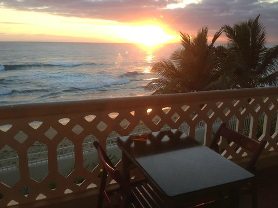 Barefoot Beach Pad:                   Sunrise from one of my balconies