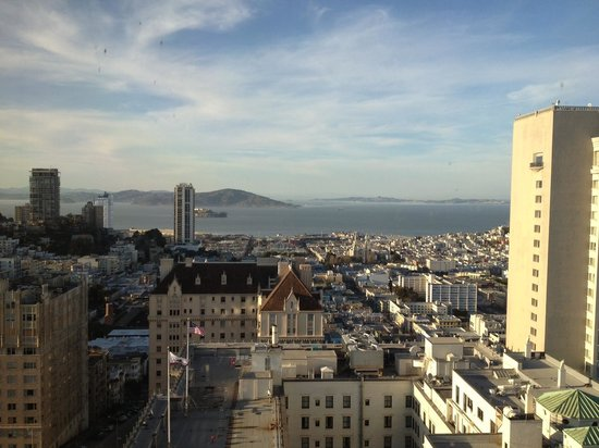 InterContinental Mark Hopkins San Francisco:                   View from Top of the Mark