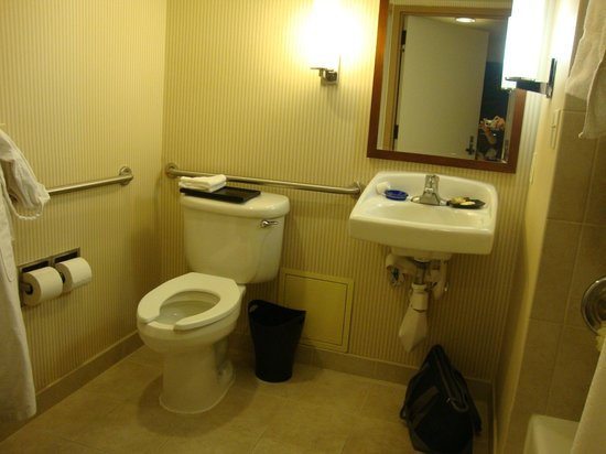 The Westin Crystal City:                   ADA Bathroom