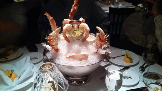 Donovan's Steak and Chop House:                   Seafood Tower Appitizer