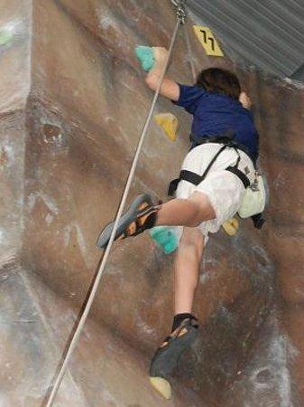 Sabah Indoor Climbing Centre :                   climbers
