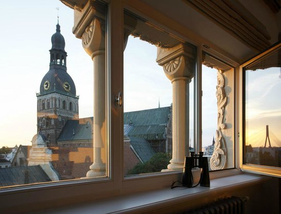Neiburgs Hotel: View from the 6th floor  to the Dome Cathedral