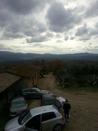 Agriturismo Borgo Casaglia:                   BELLISSIMO PANORAMA