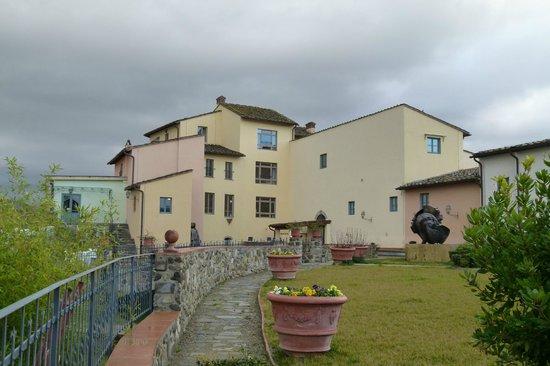 Hotel Mulino di Firenze:                   Gartenansicht