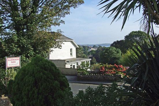 Hammonds Park: Across town towards Caldey Island