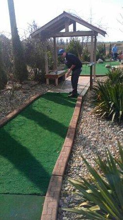 Hi-Knoll Driving Range & Mini-Golf:                   hole 5