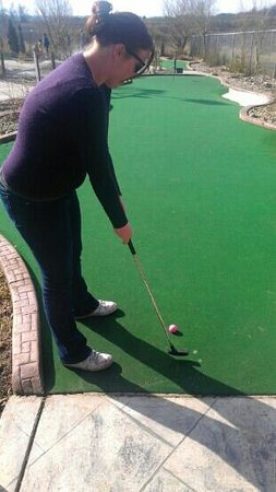 Hi-Knoll Driving Range & Mini-Golf:                   four!!!! :)