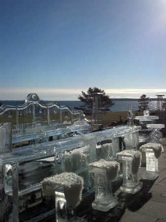 Samoset Resort On The Ocean:                   Day View