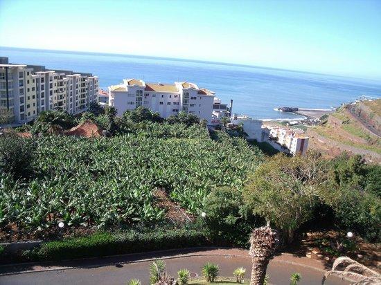 Hotel Escola :                                     vue depuis le balcon