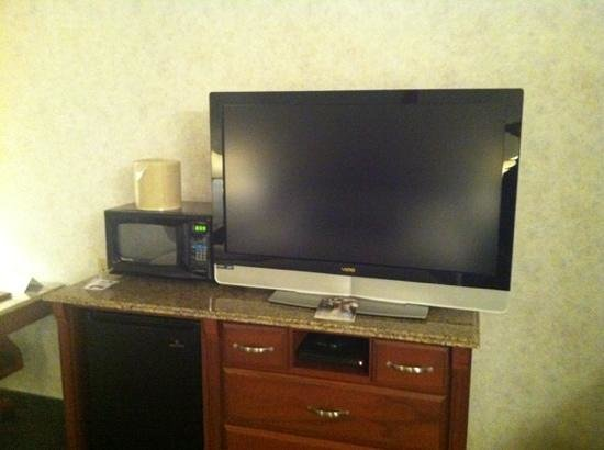 Medallion Hotel:                   huge tv