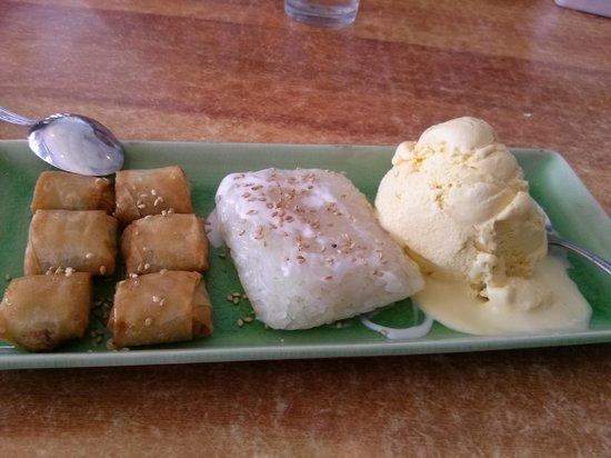 Thai Silk Restaurant:                   Dessert