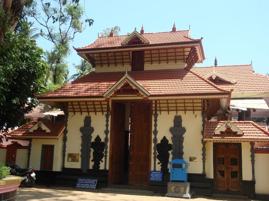 Guruvayur, Indien:                   The temple